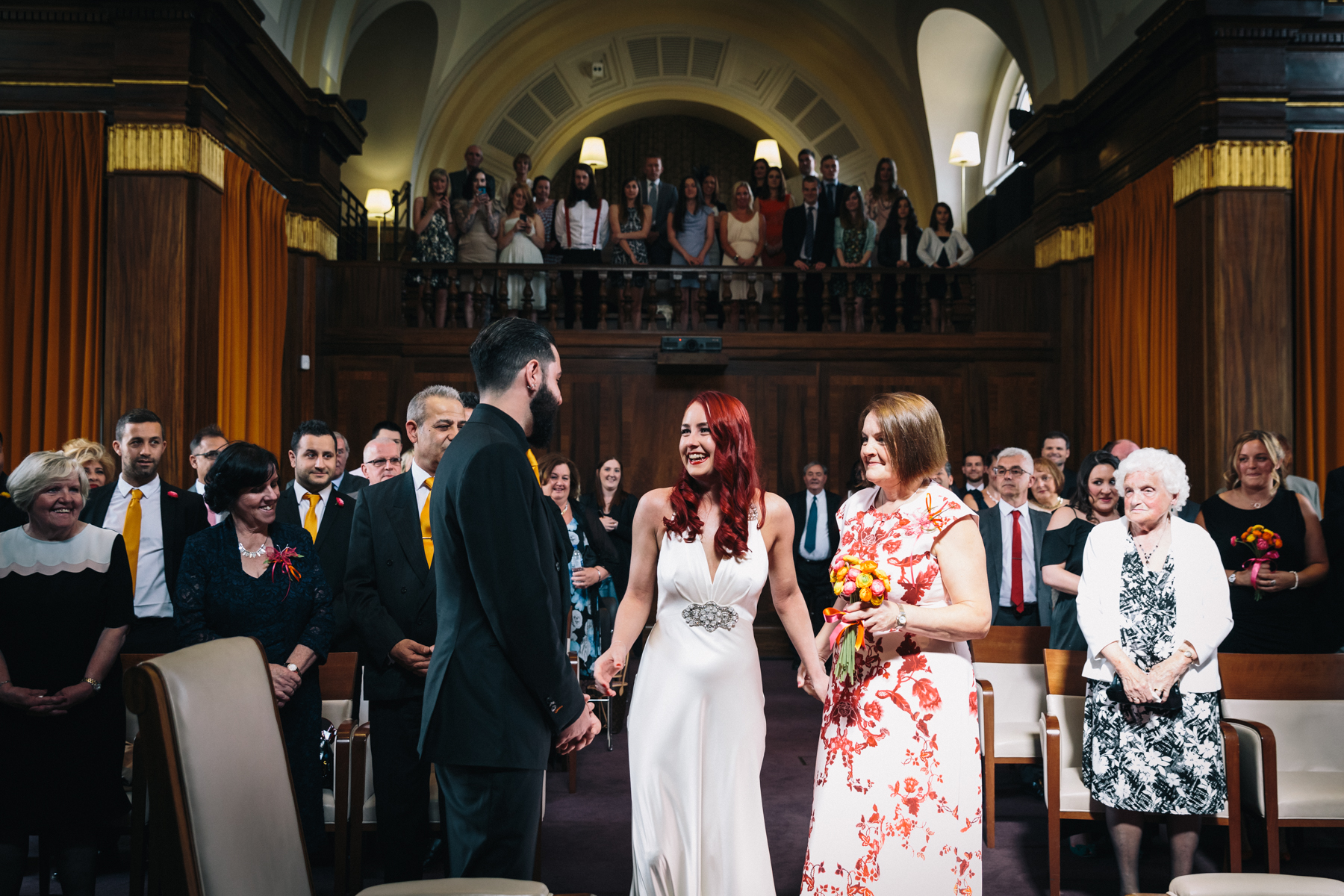 STOKE NEWINGTON TOWN HALL WEDDING-15