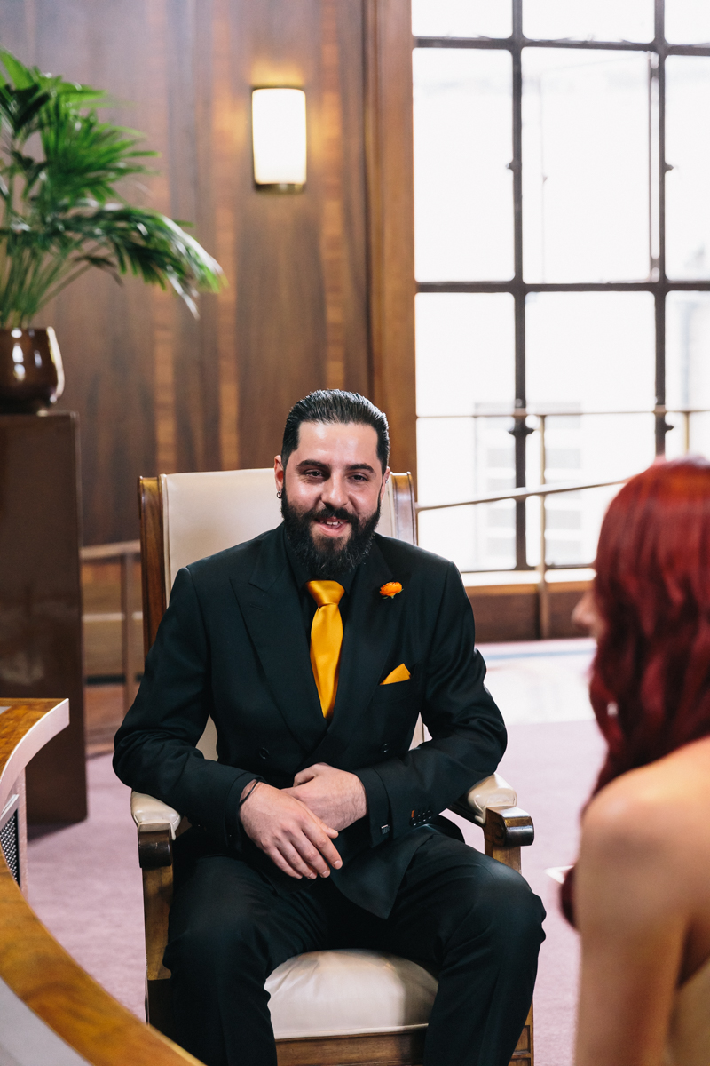 STOKE NEWINGTON TOWN HALL WEDDING-16