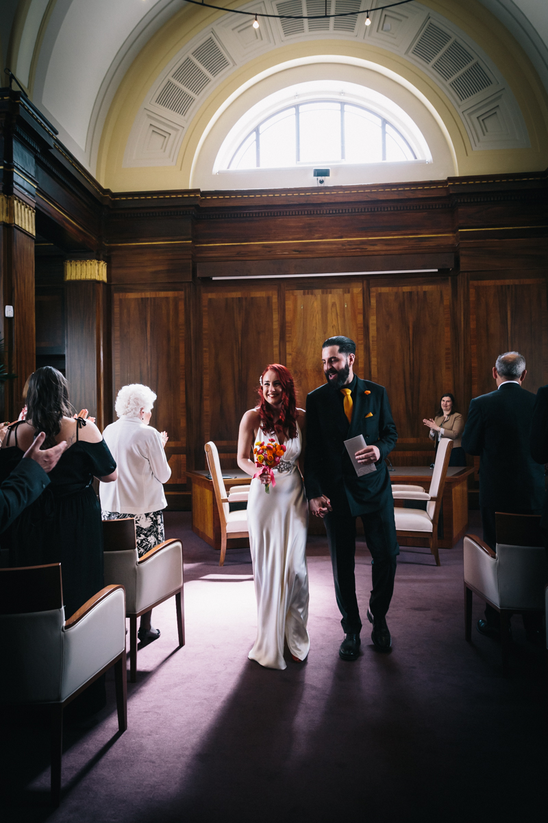 STOKE NEWINGTON TOWN HALL WEDDING-23