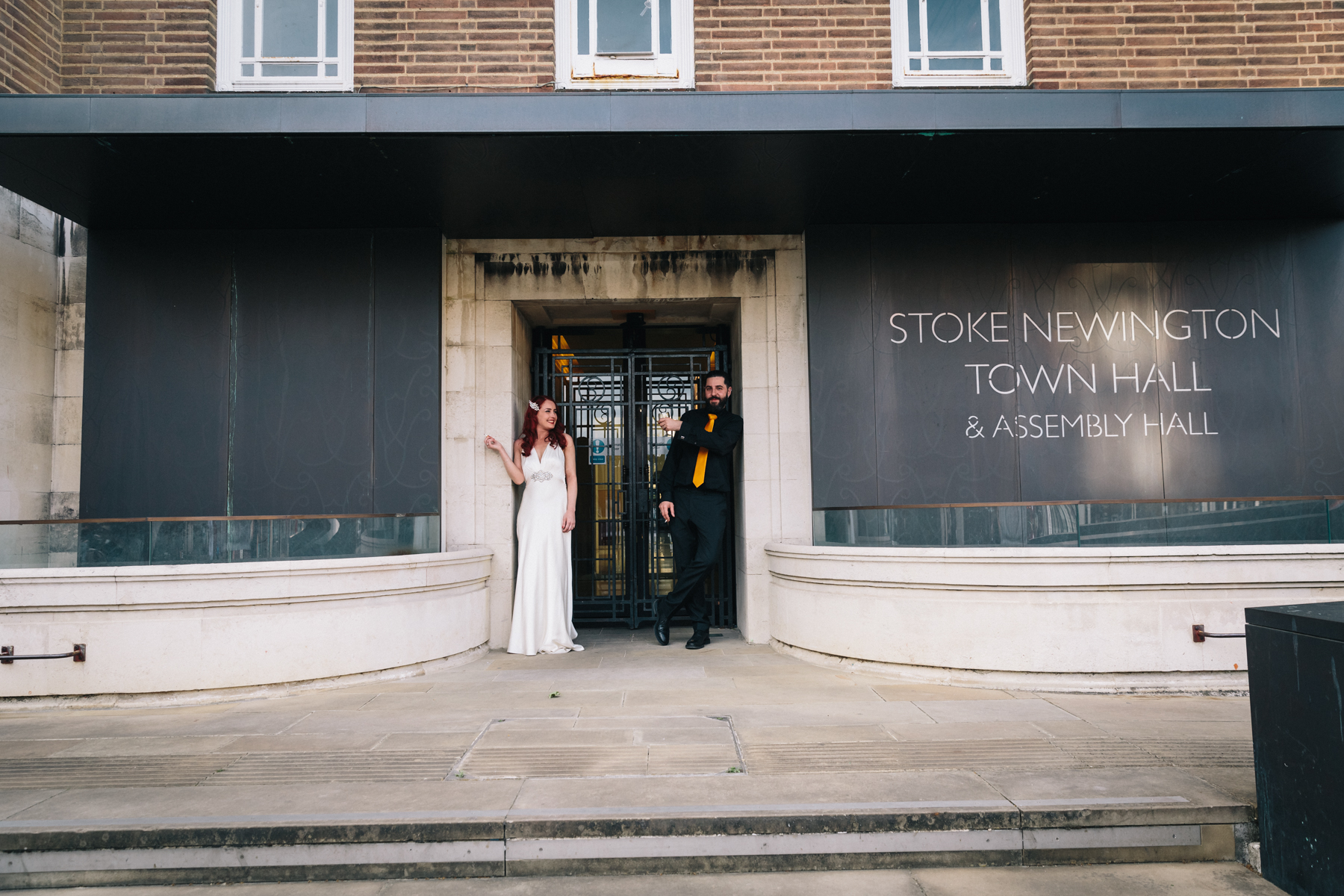 STOKE NEWINGTON TOWN HALL WEDDING-63