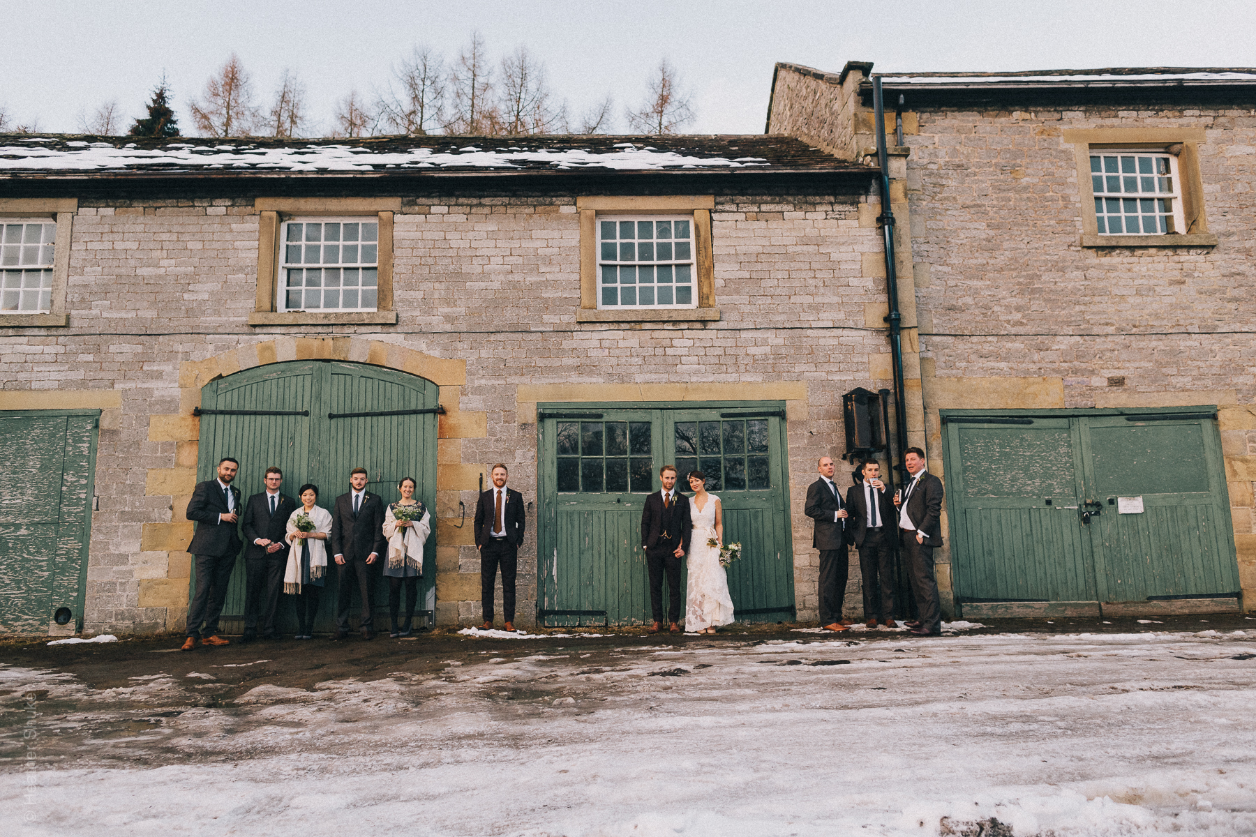 Snokwy peak district wedding-5