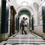 Islington wedding at night