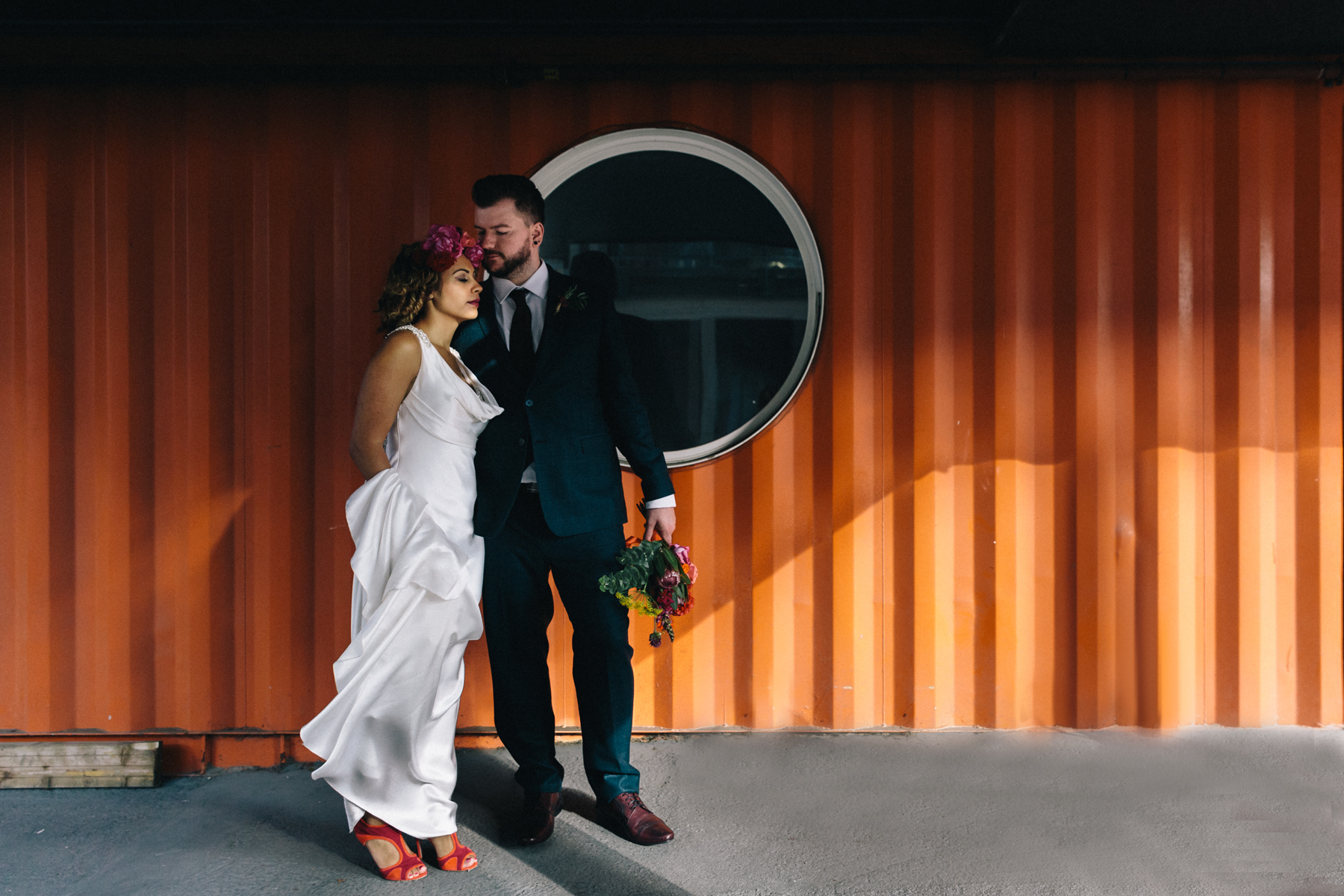 Trinity Buoy Wharf Wedding1-8