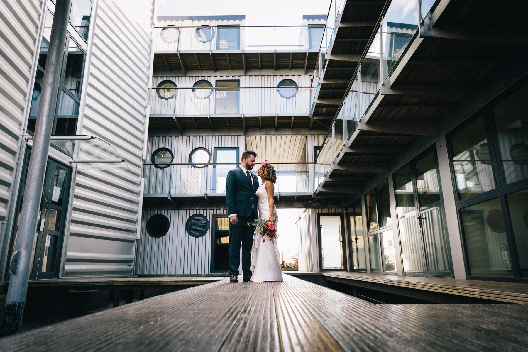 Trinity Buoy Wharf Wedding27
