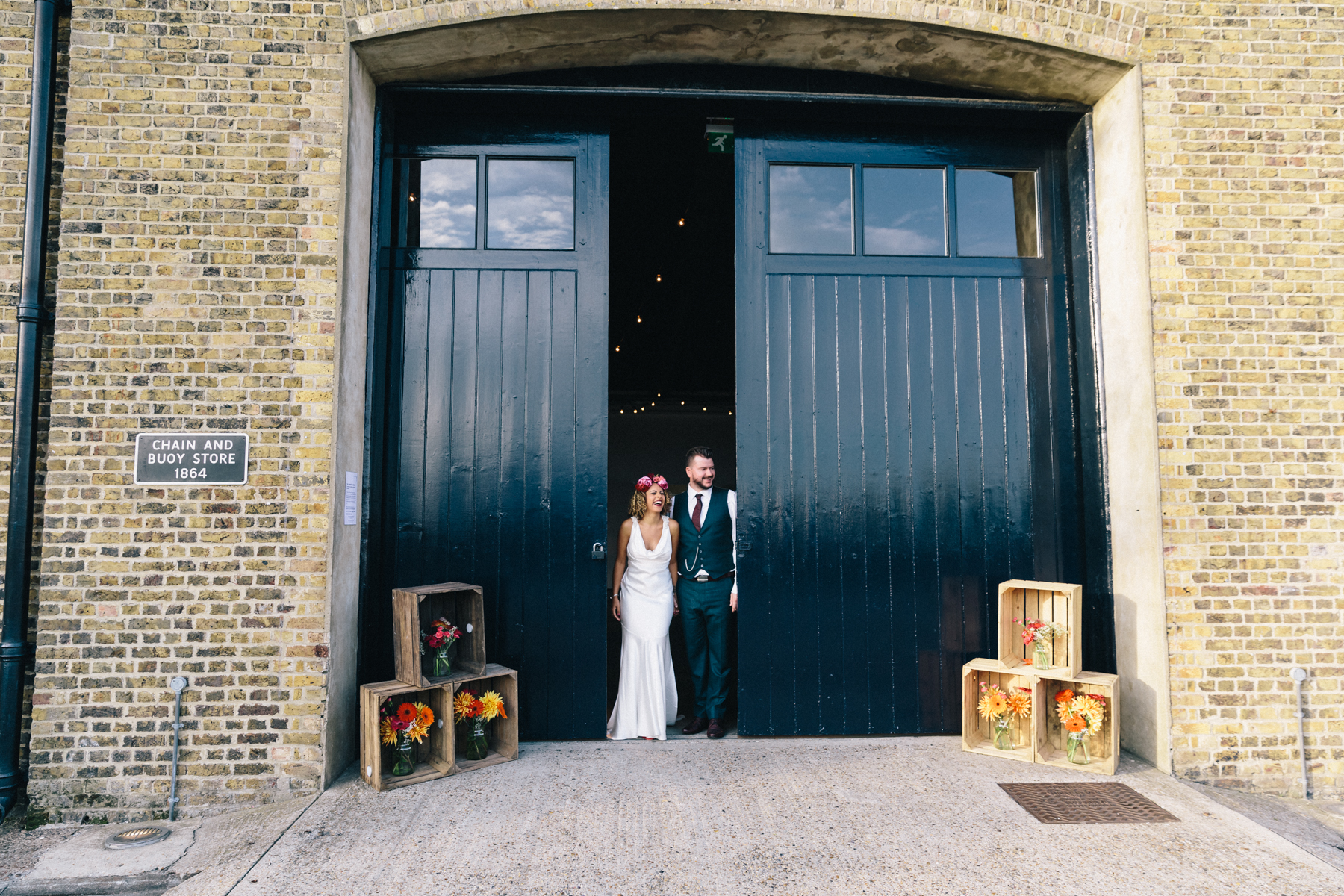 Trinity Buoy Wharf Wedding31