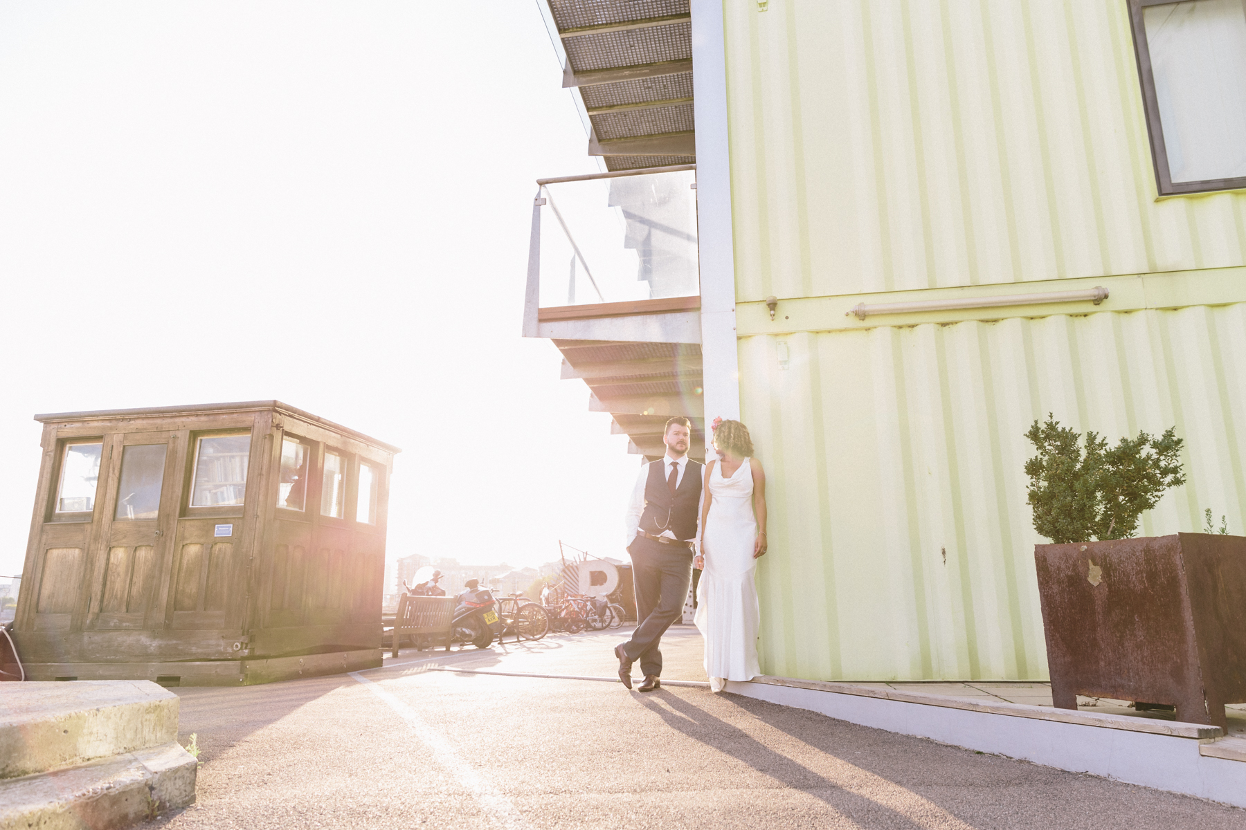 Trinity Buoy Wharf Wedding33