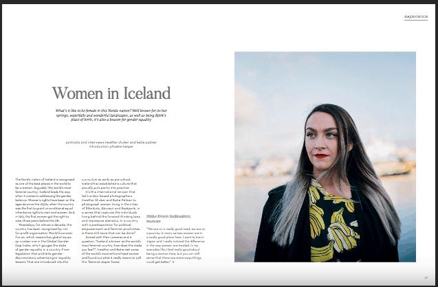 Iceland portraits