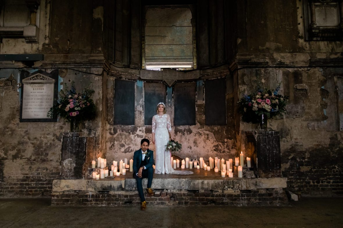 Asylum Chapel Wedding in Peckham