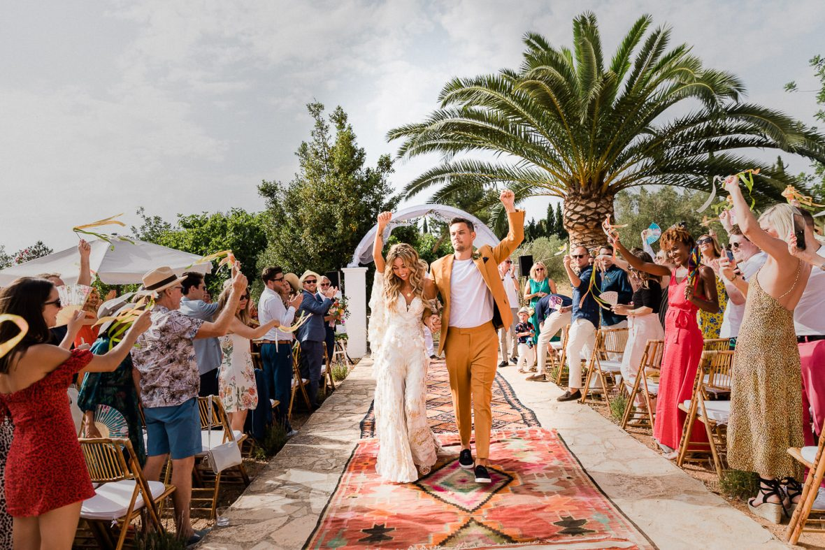 Las Cicadas Ibiza Wedding