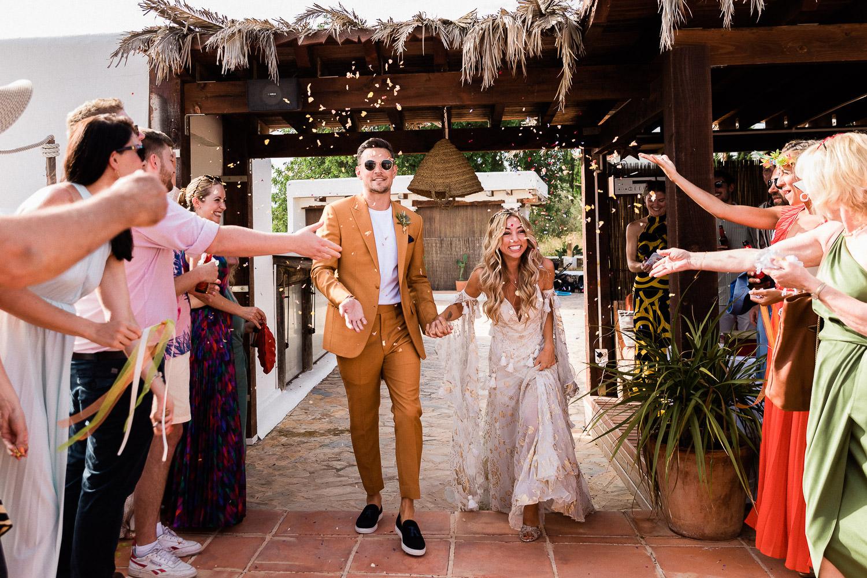 Las Cicadas Ibiza wedding