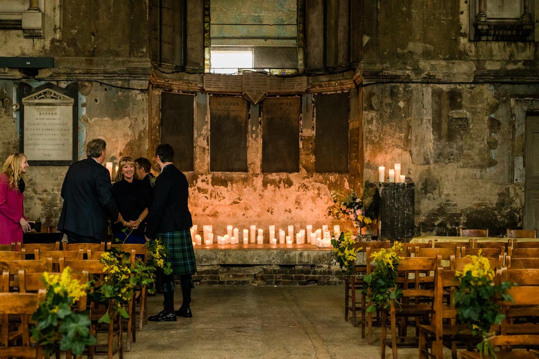 Inside the Asylum Chapel