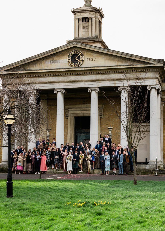 Spring wedding Asylum Peckham